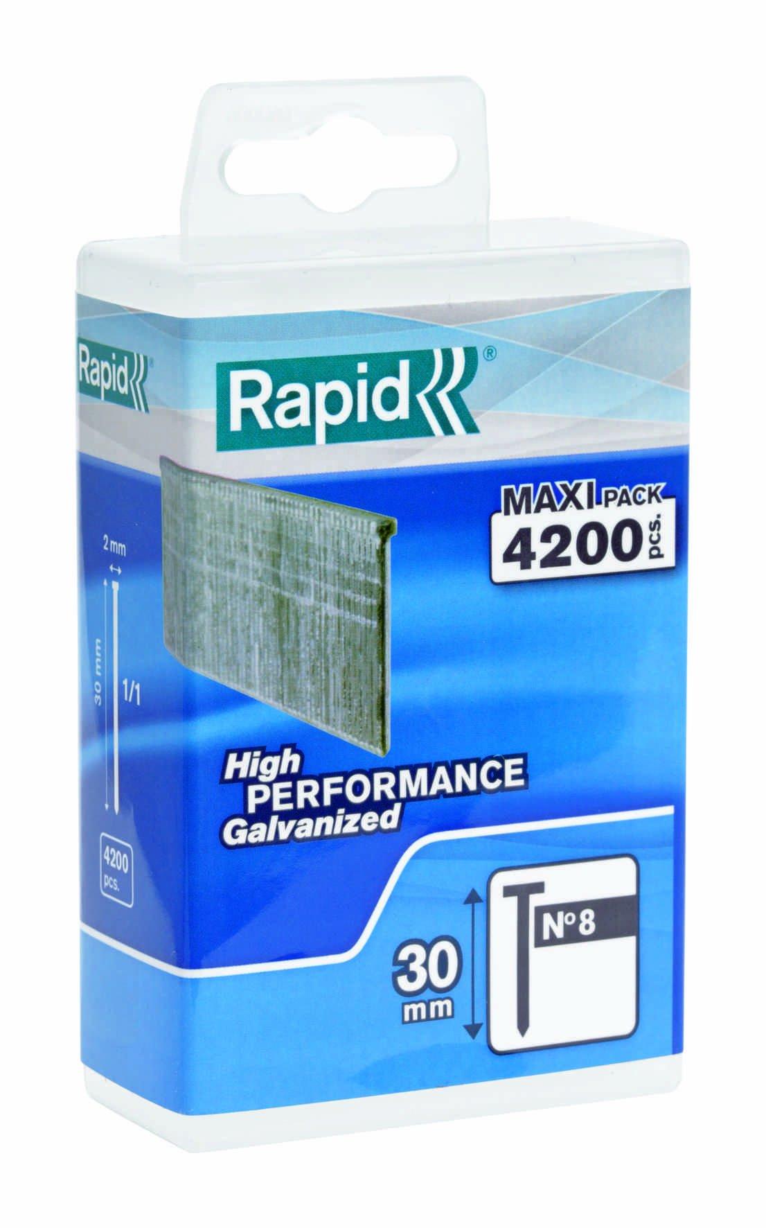 RAWLPLUG 04 006 Chiodi Muratura 2.5 x 35mm Confezione da 100