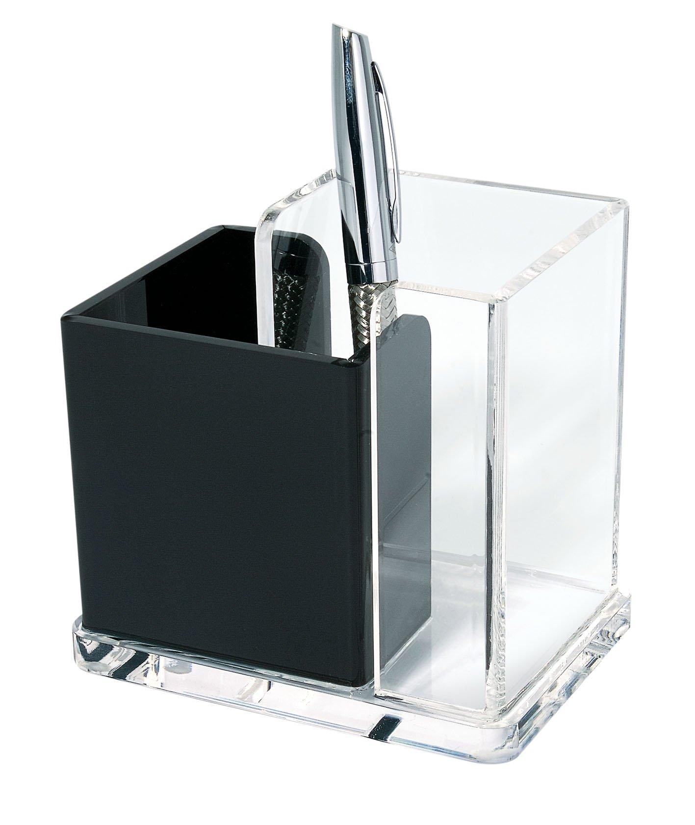 Cristallic Trasparente Wedo 0603016 Portacorrispondenza in Acrilico 2 Scomparti