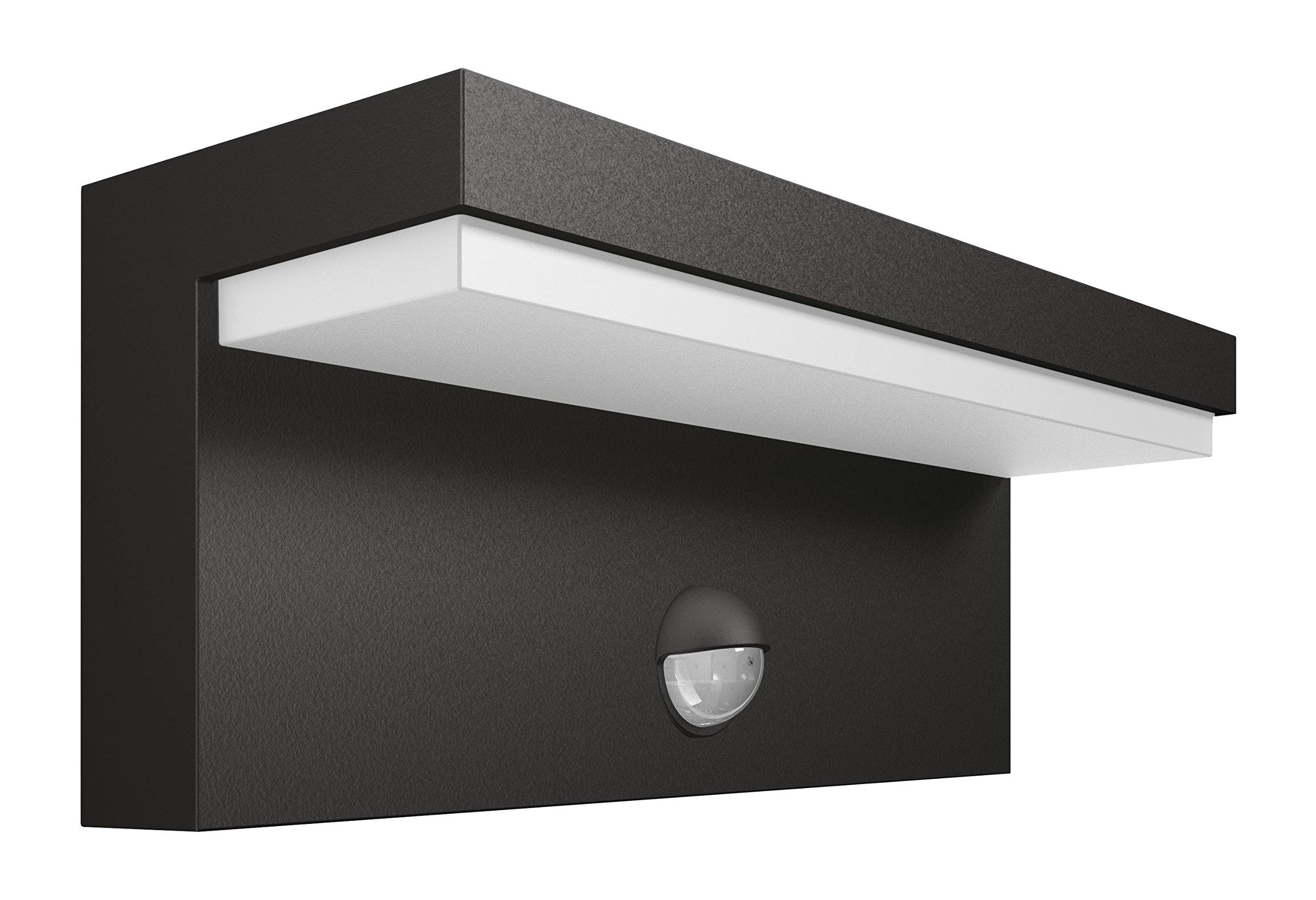 Plafoniere Da Esterno Con Sensore Di Movimento : Philips bustan lampada da parete esterno led con sensore di