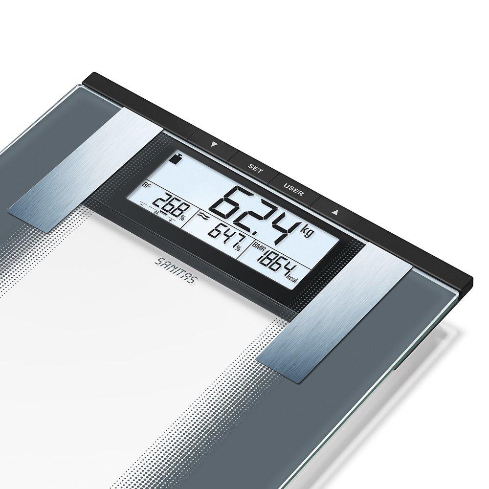 Sanitas Fitness Bluetooth bilancia pesapersone con grasso del corpo misurazione sbf70 bilancia digitale