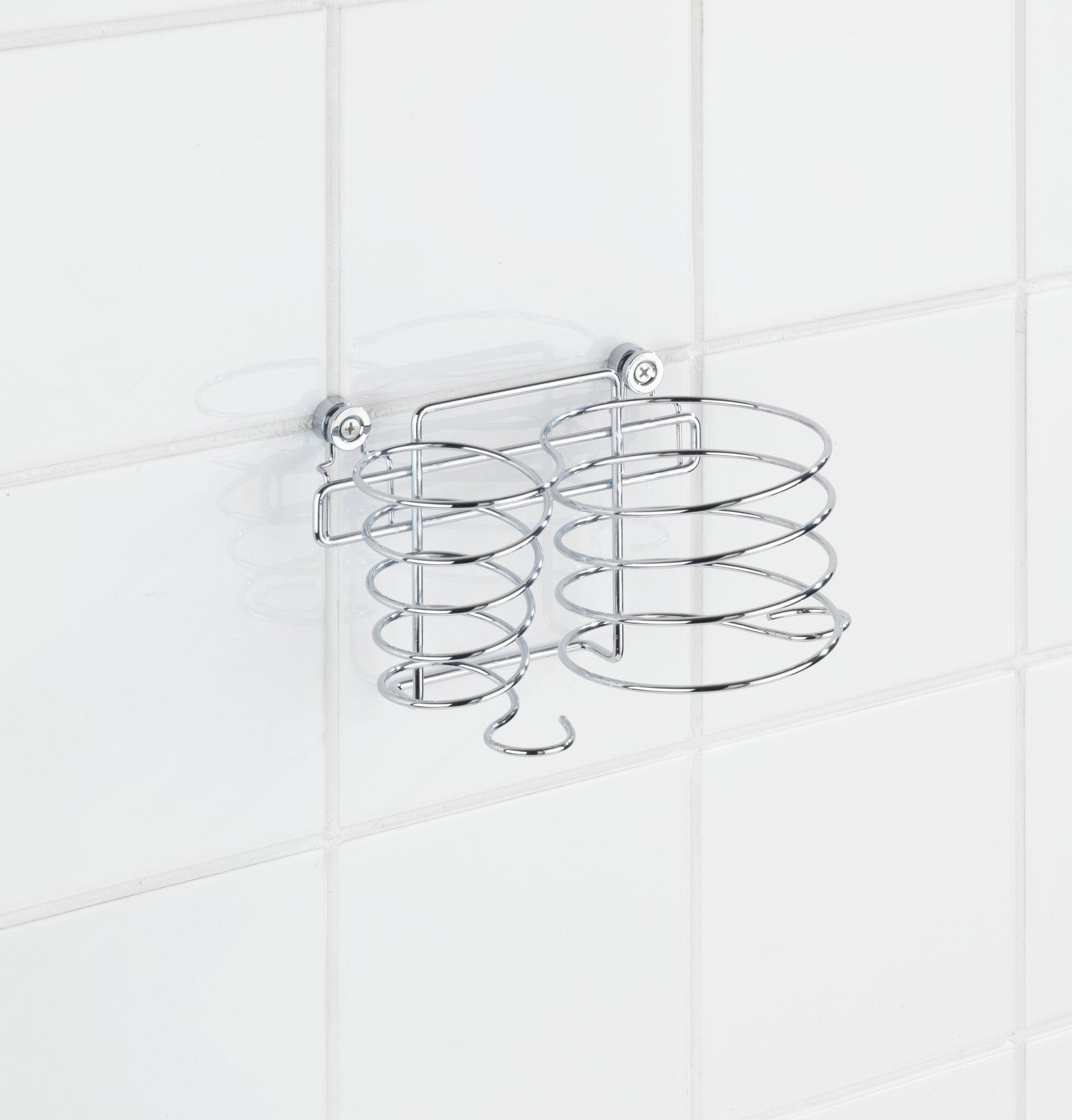 Wenko 22220100 Porta asciugacapelli e piastra per capelli